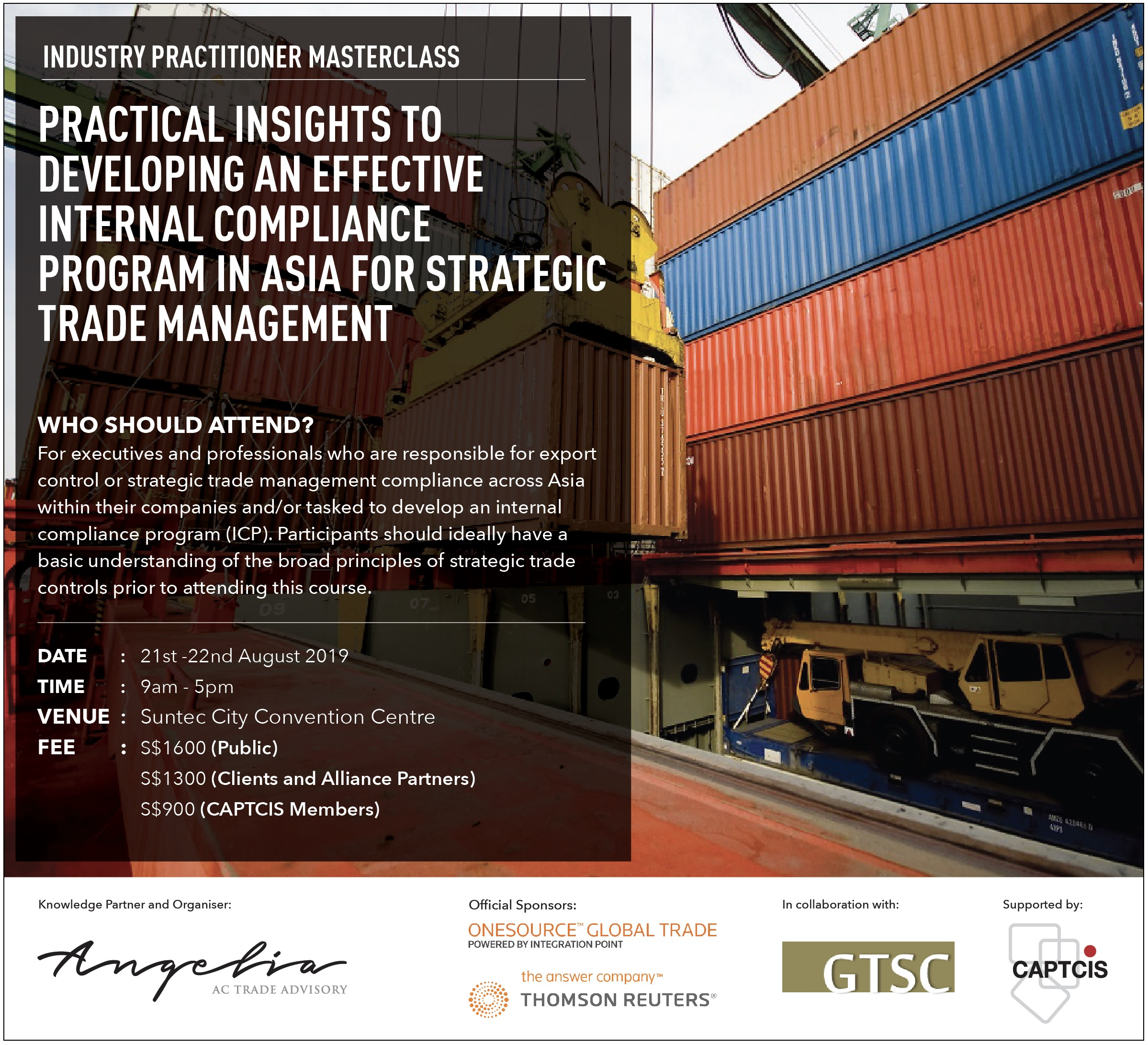 Practical Insights to Developing an Effective Internal Compliance Program in Asia for Strategic Trade Management