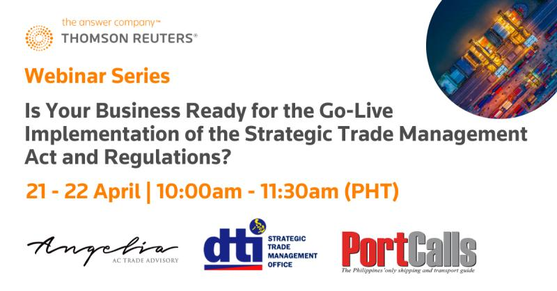 Is your business ready for the go-live implementation of the Strategic Trade Management Act and regulations?