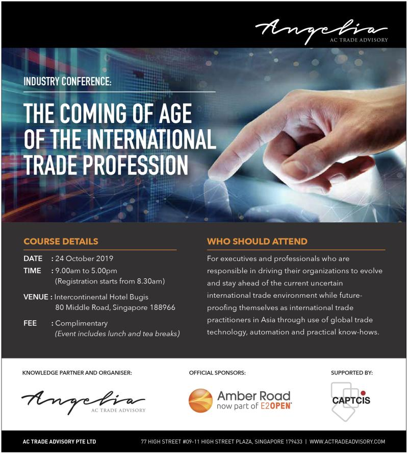 The Coming of Age of the International Trade Professional