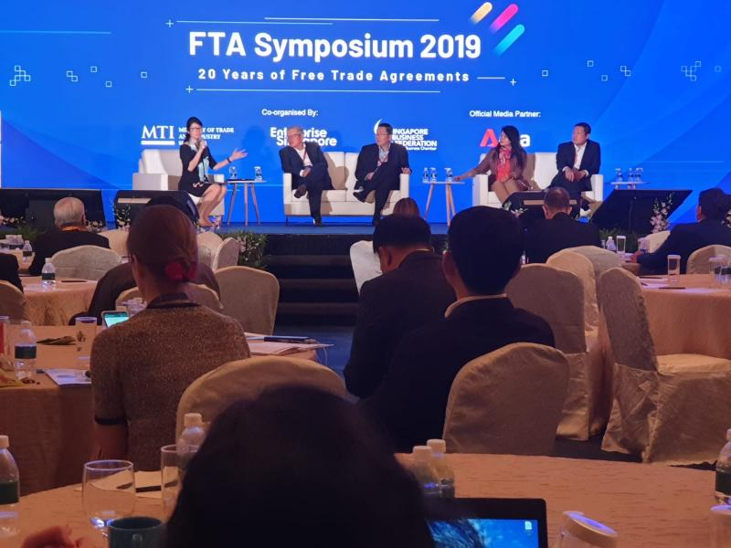 Free Trade Agreement Symposium 2019 – Celebrating 20 years of FTAs in Singapore (Organised by Singapore Business Federation)